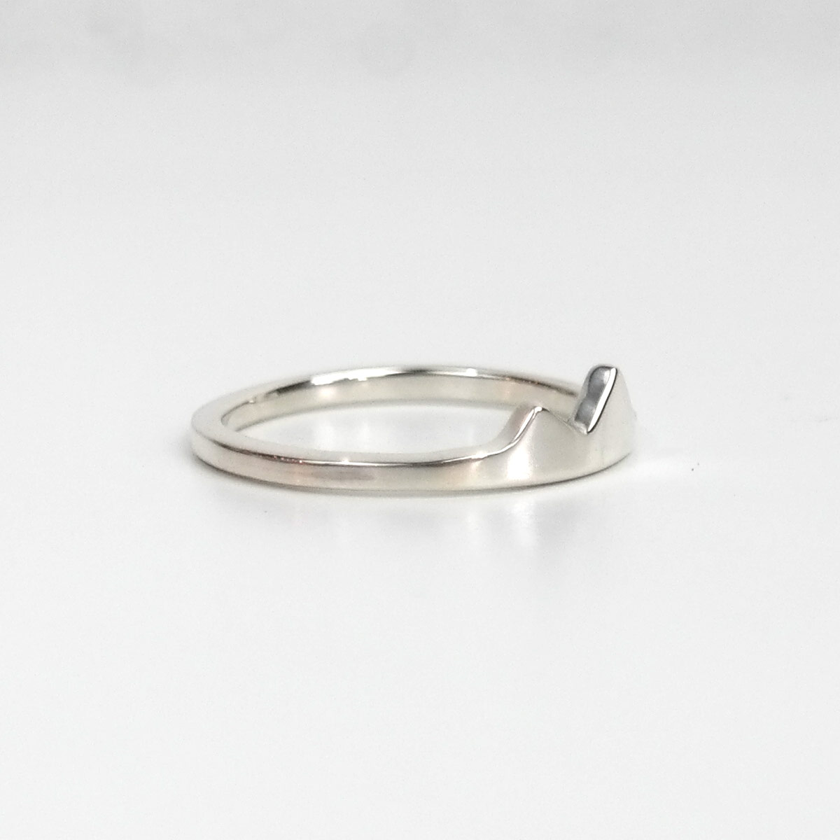 Mountain Ring, Silver Ring, Wanderlust, Dainty Ring, Nature Ring ...