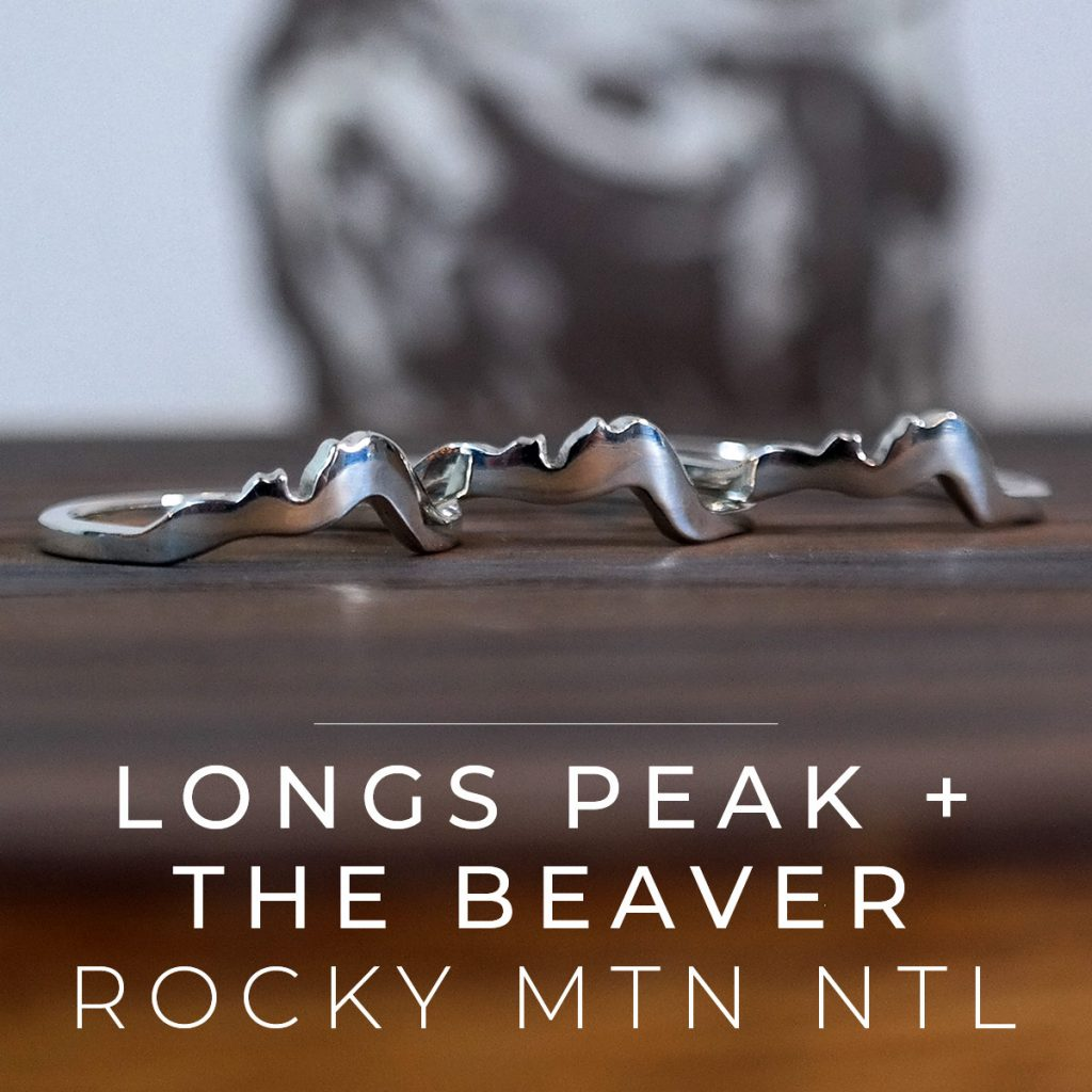 Longs Peak and the Beaver