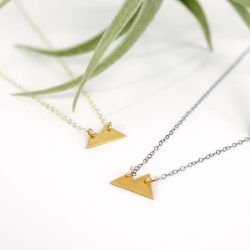 gold mountain necklaces small
