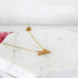 mini mountain gold bracelet